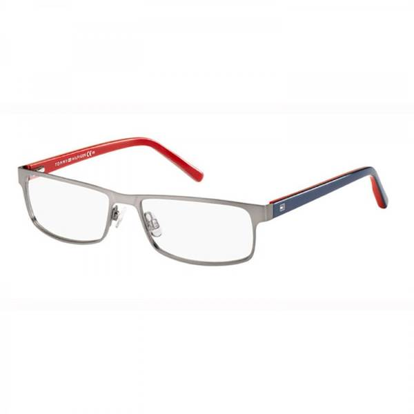 Rame ochelari de vedere unisex TOMMY HILFIGER (S) TH1127 5VU MT DARK BLUE RED