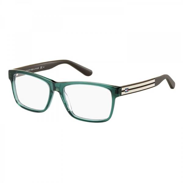 Rame ochelari de vedere unisex TOMMY HILFIGER (S) TH1237 1I8 GREEN BROWN