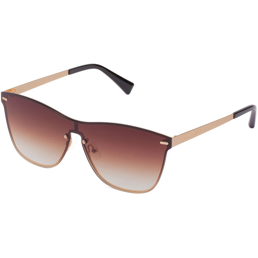 Ochelari de soare unisex Hawkers LifeStyle Gold Brown Gradient One Venm Metal H02LHM0630