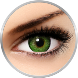 Freshlook Dimensions Sea Green - lentile de contact colorate verzi lunare - 30 purtari (2 lentile/cutie)