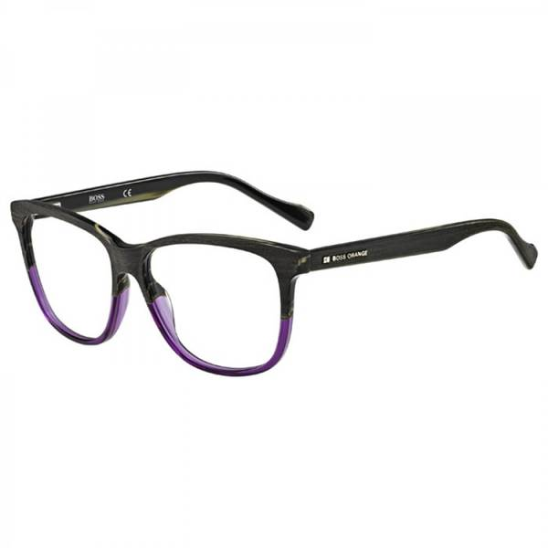 Rame ochelari de vedere unisex BOSS ORANGE (S) BO0152 6TO WOOD BROWN VIOLET