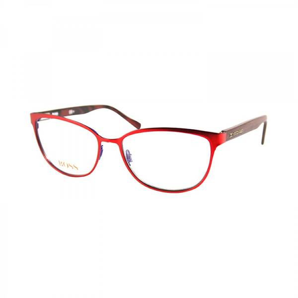 Rame ochelari de vedere dama BOSS ORANGE (S) BO0153 6TA MT RED WOOD