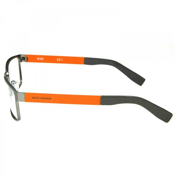Rame ochelari de vedere barbati BOSS ORANGE (S) BO0204 7ZL MATT RUTHENIUM OR 54