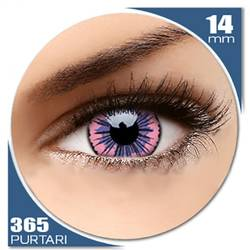 Fancy UV Pink Jubilee - lentile de contact colorate roz anuale - 360 purtari (2 lentile/cutie)