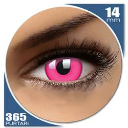 Fancy UV Pink - lentile de contact colorate roz anuale - 360 purtari (2 lentile/cutie)