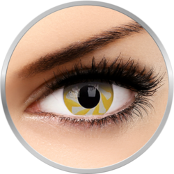 Fancy Yellow Spin - lentile de contact colorate galbene anuale - 360 purtari (2 lentile/cutie)
