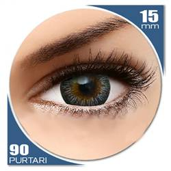 Enchanter Grey - lentile de contact colorate gri trimestriale - 90 purtari (2 lentile/cutie)