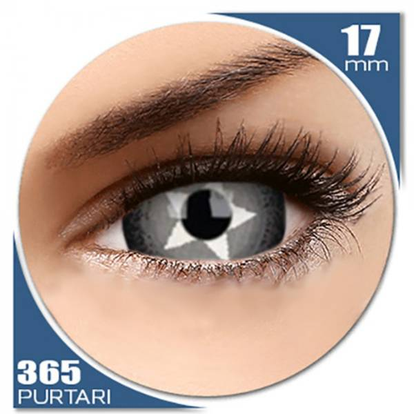 Phantasee Fancy Stargazer - lentile de contact colorate negre anuale - 360 purtari (2 lentile/cutie)