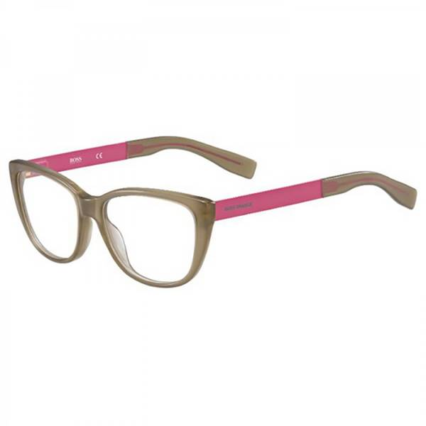 Rame ochelari de vedere dama BOSS ORANGE (S) BO0219 FMH BROWN FUCSHIA
