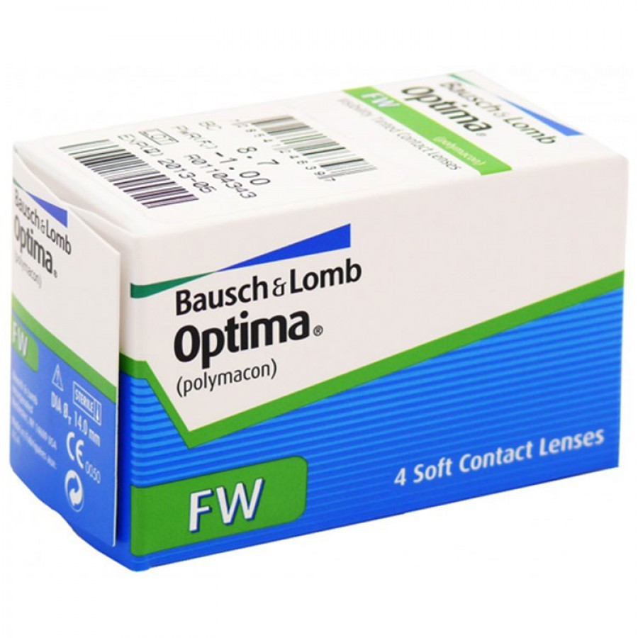 Imagine Bausch & Lomb Optima Fw (soflens 58) Trimestriale 4 Lentile / Cutie