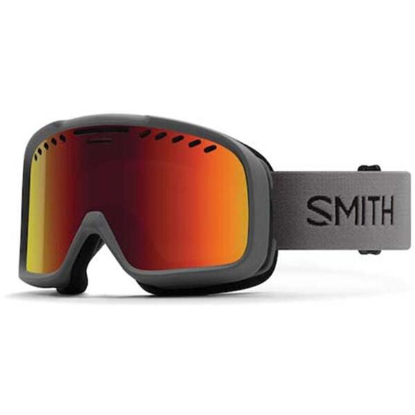 Ochelari de ski pentru adulti Smith PROJECT M00682 ZX2 CHARCOAL RED SOLX SP AF