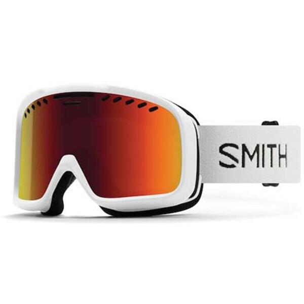 Ochelari de ski pentru adulti Smith PROJECT M00682 ZJ7 WHITE RED SOLX SP AF