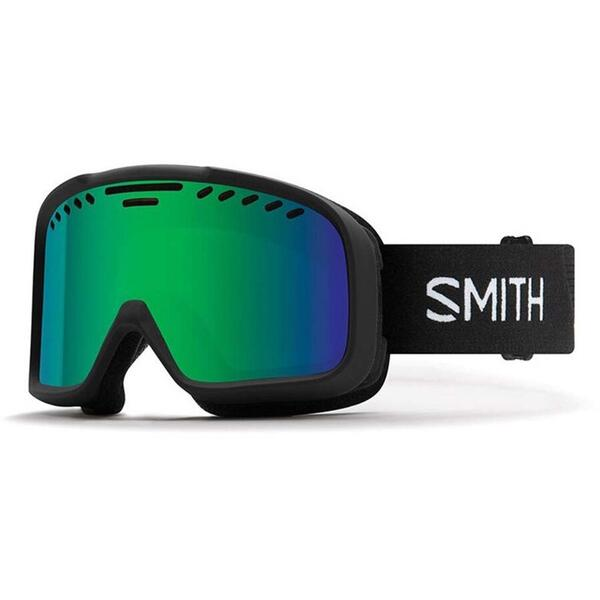 Ochelari de ski pentru adulti Smith PROJECT M00682 9PC BLACK GRN SOLX SP AF