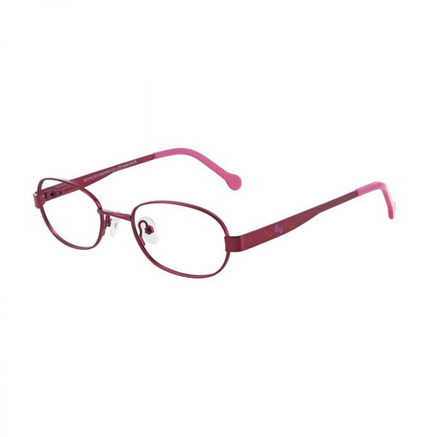 Hello Kitty Rame ochelari de vedere copii HELLO KITTY K HE MM048 C12 DARK PINK M