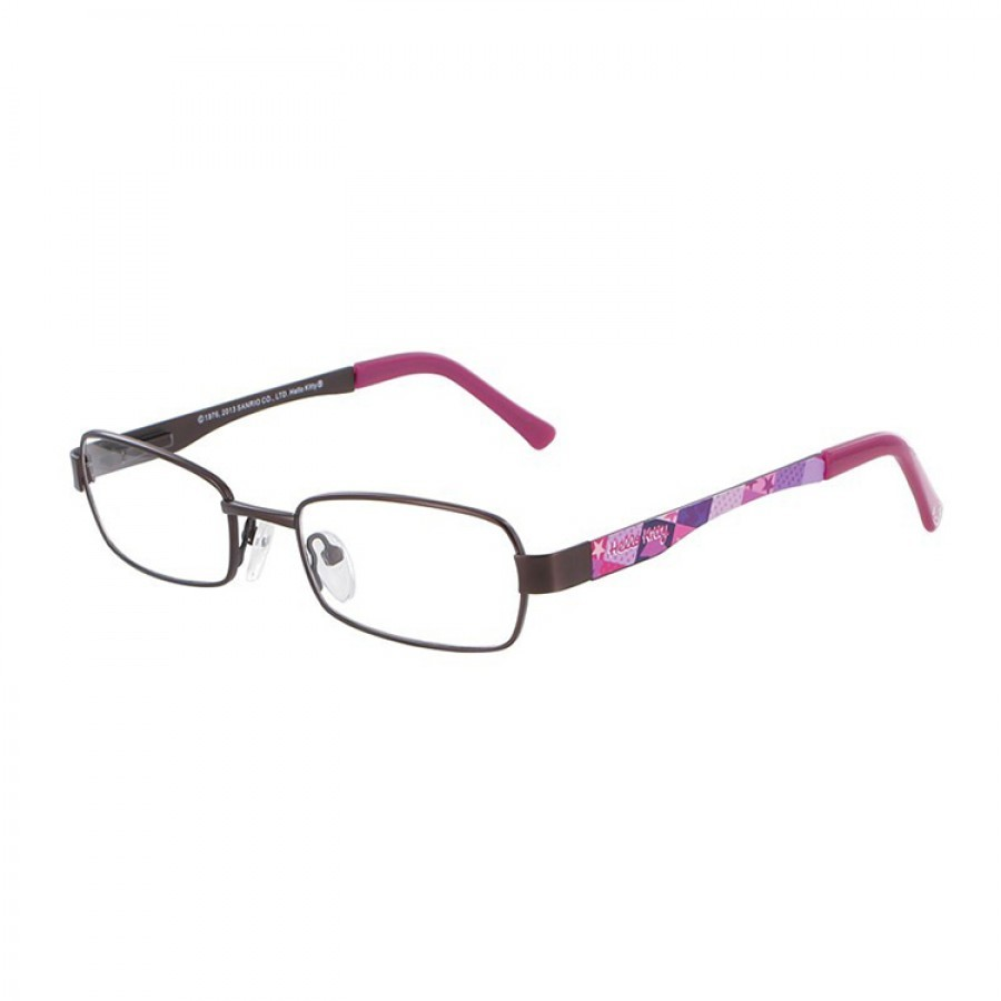 Hello Kitty Rame ochelari de vedere copii HELLO KITTY T HK MM047 C17 DARK BROWN