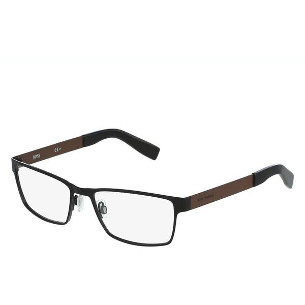 Rame ochelari de vedere barbati BOSS ORANGE (S) BO0204 7W8 BLACK BROWN