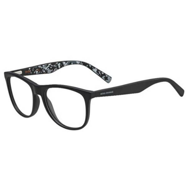 Rame ochelari de vedere unisex BOSS ORANGE (S) BO0218 MYC BLACK GREY
