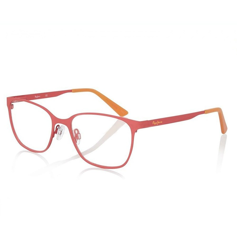 Pepe Jeans Rame ochelari de vedere unisex PEPE JEANS JUSTIS 1200 C6 RED 52