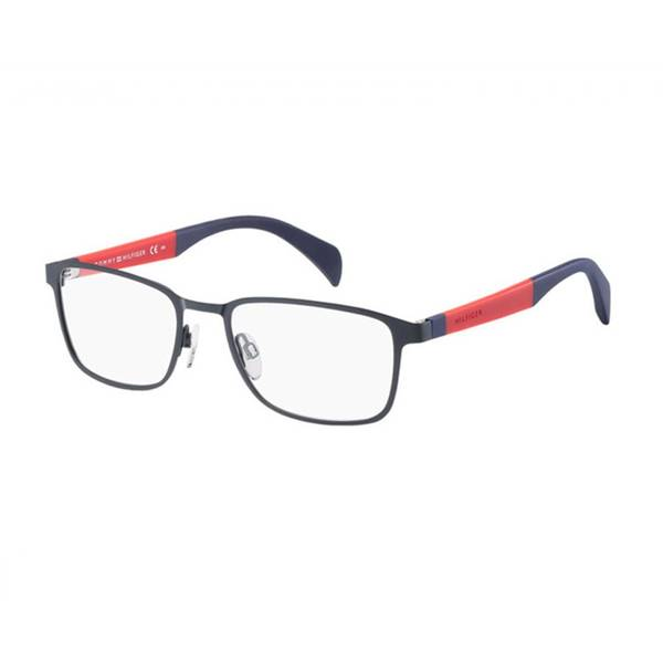 Rame ochelari de vedere unisex TOMMY HILFIGER (S)  TH1272 4NP MATT BLUE RED