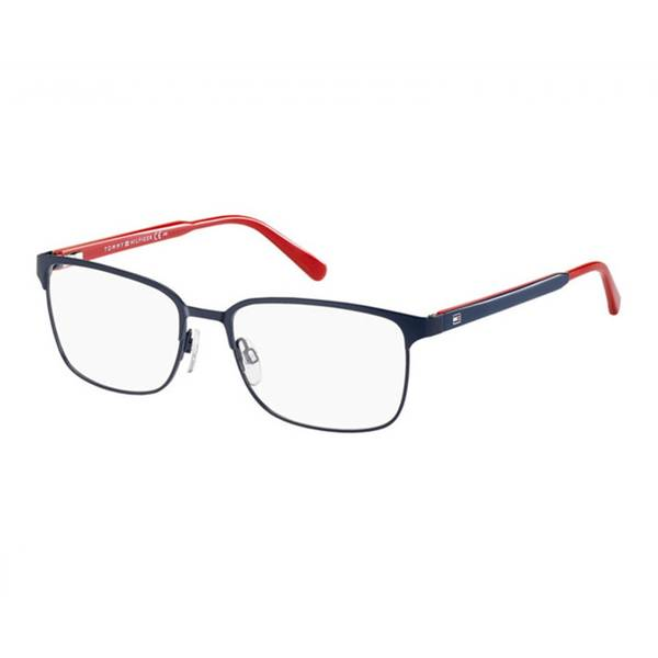 Rame ochelari de vedere unisex TOMMY HILFIGER (S)  TH1273 5PL MATT BLUE RED