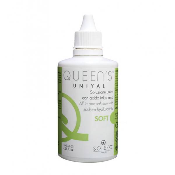 Solutie intretinere lentile de contact Soleko Uniyal Queen's  S/S 100 ml