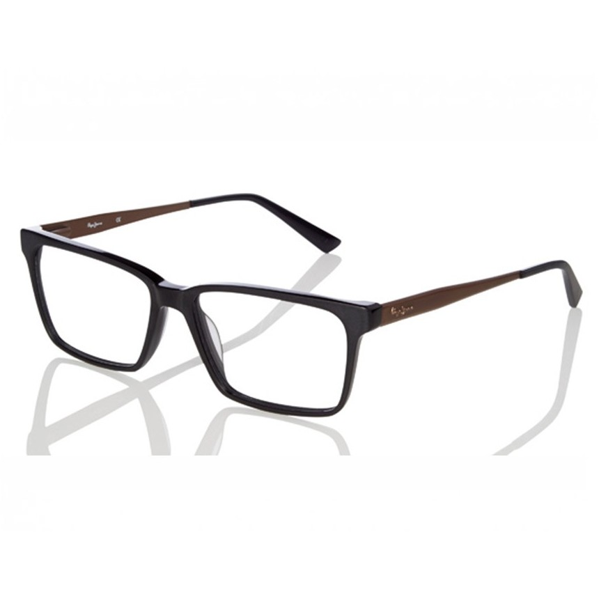 Rame ochelari de vedere unisex PEPE JEANS WILLIAM 3221 C1 BLACK