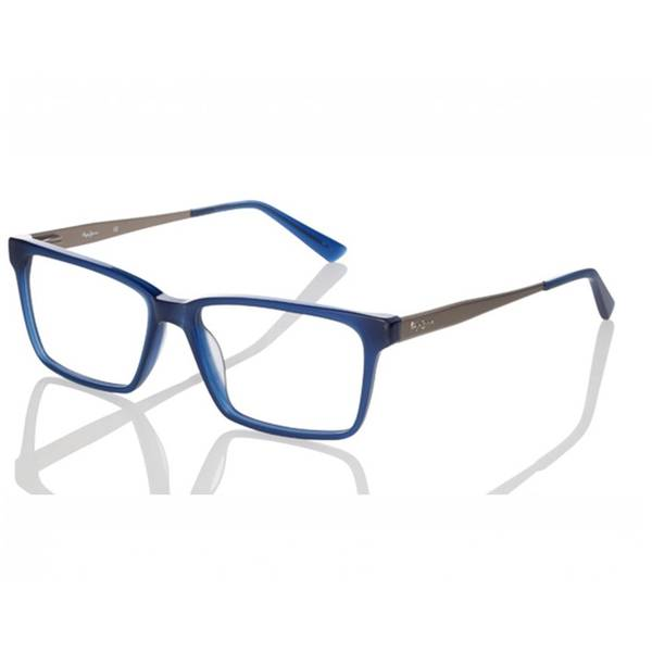 Rame ochelari de vedere unisex PEPE JEANS WILLIAM 3221 C3 BLUE