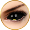 ColourVUE Sclera Blacklash - lentile de contact colorate negre anuale - 185 purtari (2 lentile/cutie)