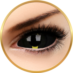 Sclera Blacklash - lentile de contact colorate negre anuale - 185 purtari (2 lentile/cutie)