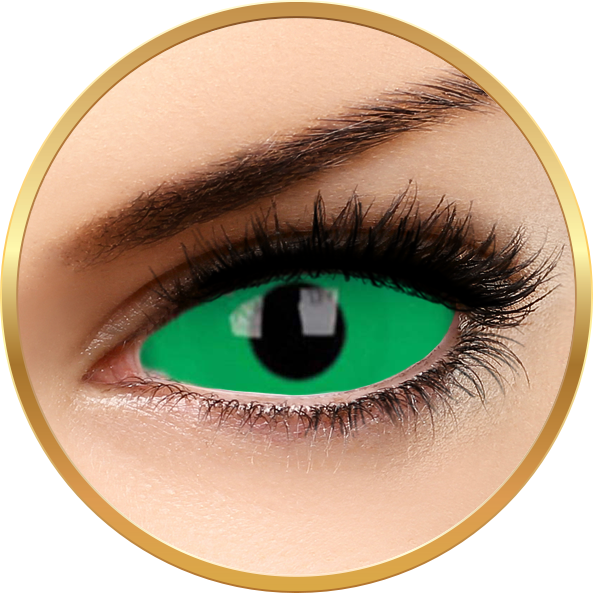 ColourVUE Sclera Cynosure – lentile de contact colorate verzi anuale – 185 purtari (2 lentile/cutie)