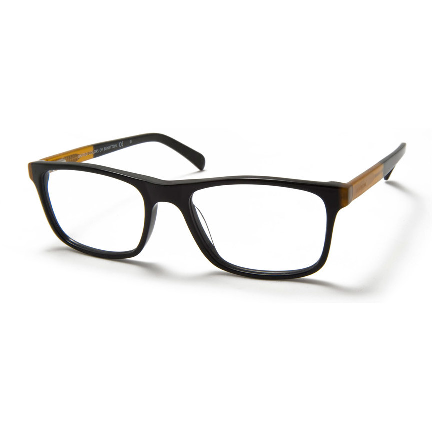 Rame ochelari de vedere unisex BENETTON BN345V01 Black 53 de la United Colors of Benetton
