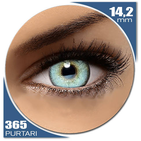 Auva Vision Fashion Lentilles Diamonds BLUE SEA 365 purtari