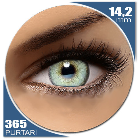 Diamonds LIGHT BLUE 365 purtari de la Auva Vision Fashion Lentilles