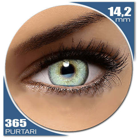 Auva Vision Fashion Lentilles Diamonds LIGHT BLUE 365 purtari