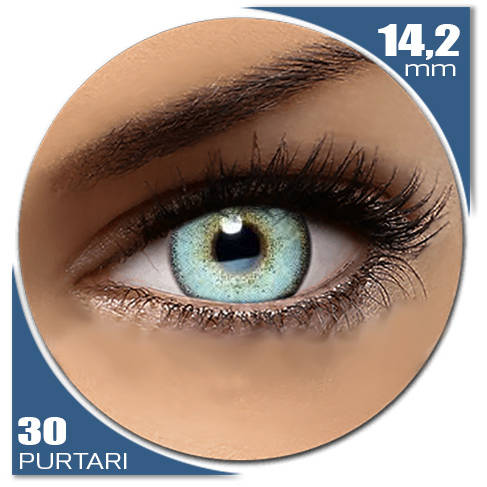 Auva Vision Fashion Lentilles Diamonds BLUE SEA 30 purtari
