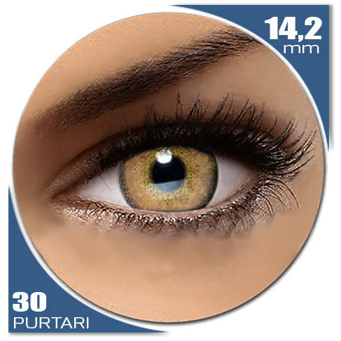 Auva Vision Fashion Lentilles Diamonds JASPER BROWN 30 purtari