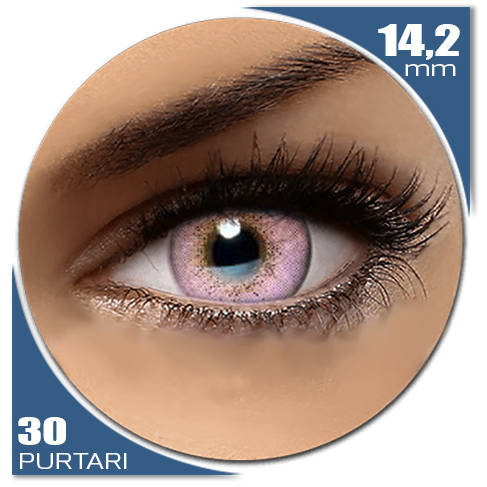 Auva Vision Fashion Lentilles Natural SOFT PINK 30 purtari