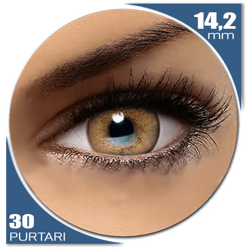Natural SOFT BROWN 30 purtari de la Auva Vision Fashion Lentilles