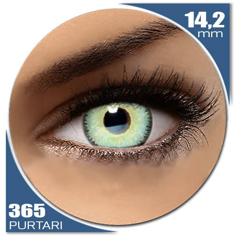 Auva Vision Fashion Lentilles Dark Dream TOPAZE BLUE 365 purtari