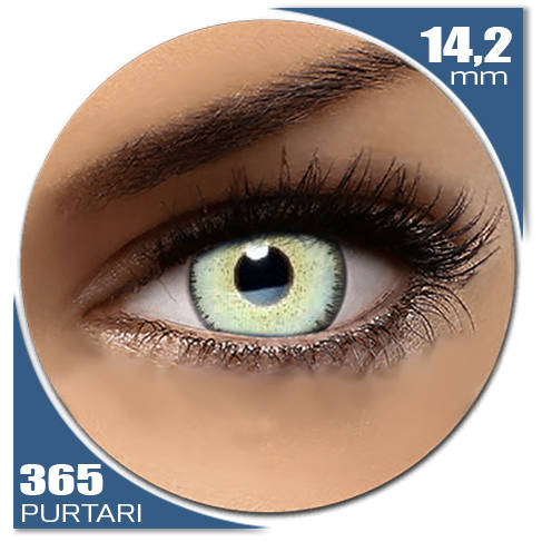 Auva Vision Fashion Lentilles Dream OCEAN BLUE 365 purtari