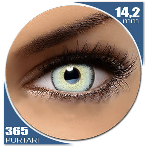 Auva Vision Fashion Lentilles Dream ICE BLUE 365 purtari