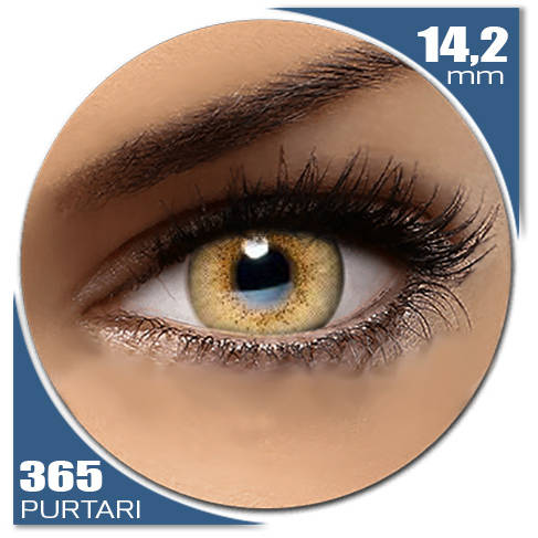 Auva Vision Fashion Lentilles Natural SOFT GOLD 365 purtari