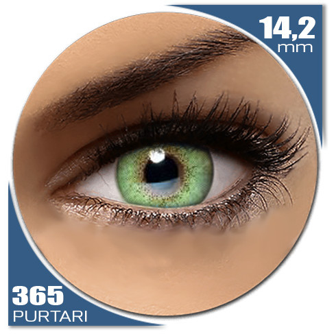 Natural SOFT GREEN 365 purtari de la Auva Vision Fashion Lentilles