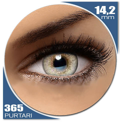 Auva Vision Fashion Lentilles Natural SOFT GRAY 365 purtari