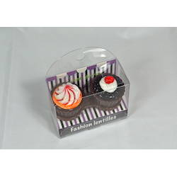 Auva Vision Suport pentru lentilele de contact Cup Cake Brown