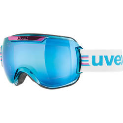 Ochelari ski UVEX Downhill 2000 Race Cyan-Chrome 55.0.112.0429