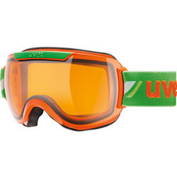 Ochelari schi UVEX DH 2000 Race Orange-Green 55.0.112.3129