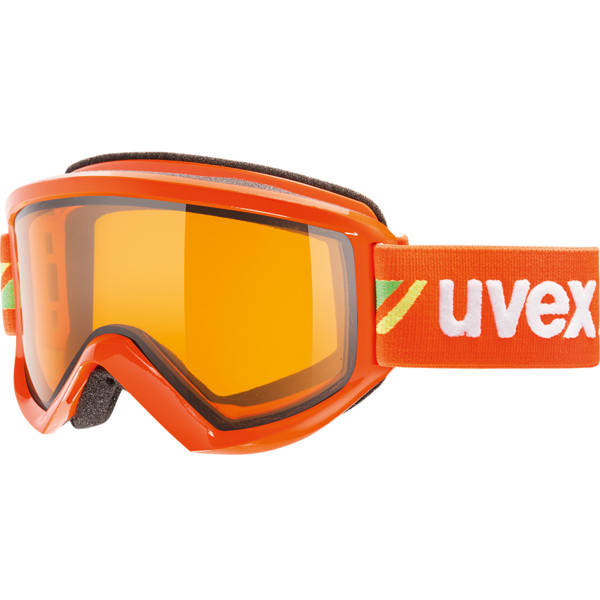 Ochelari de ski UVEX Fire Race Orange