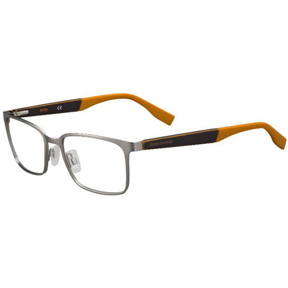 Rame ochelari de vedere barbati BOSS ORANGE (S) BO0265 GZG MATT RUTHENIUM de la Boss Orange