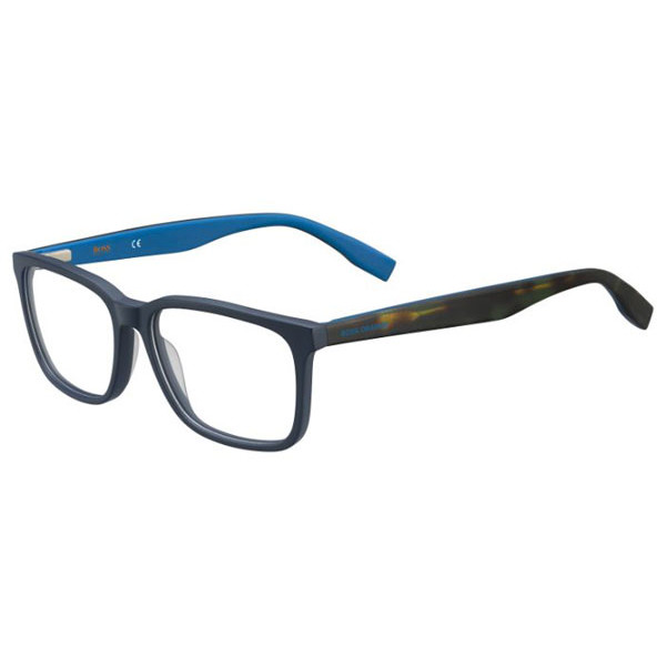 Boss Orange Rame ochelari de vedere barbati BOSS ORANGE (S) BO0267 I8V BLUE HAVANA